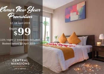 Celebrate Khmer New Year in style at Central Mansions!